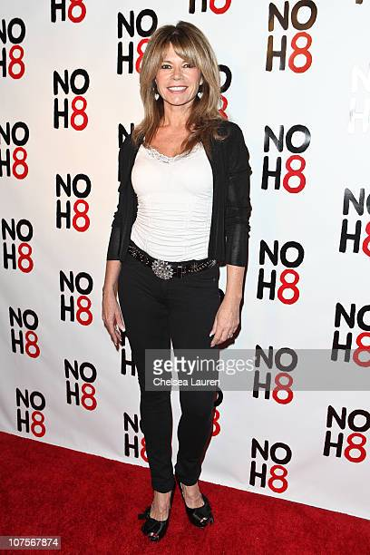 Actress MaryMargaret Humes arrives at the NOH8 campaign 2nd anniversary celebration at Wonderland on December 13 2010 in Hollywood California