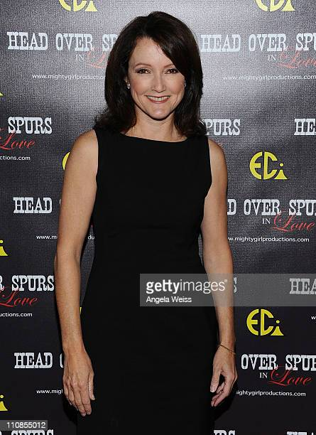 Actress Mary-Margaret Humes arrives at the world premiere of 'Head Over Spurs In Love' at Majestic Crest Theatre on March 24, 2011 in Los Angeles,...