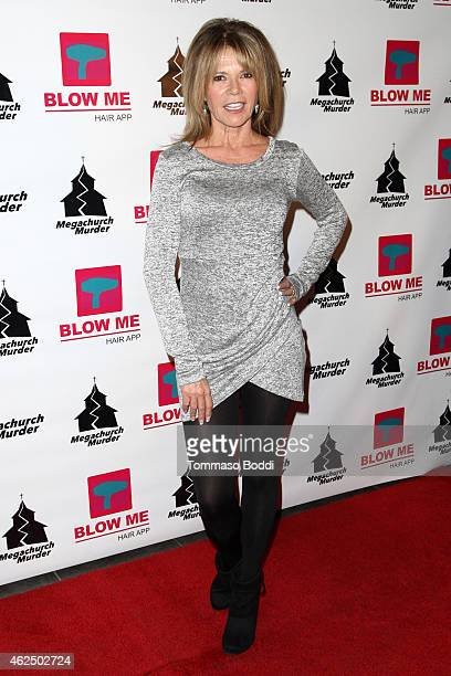 Actress MaryMargaret Humes attends the Lifetime Television's Megachurch Murder premiere screening held at the Harmony Gold Theatre on January 29 2015...