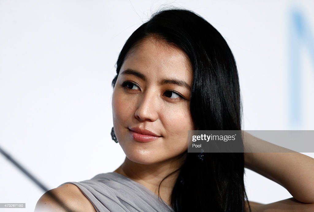 """""""Umimachi Diary"""" Press Conference - The 68th Annual Cannes Film Festival : News Photo"""