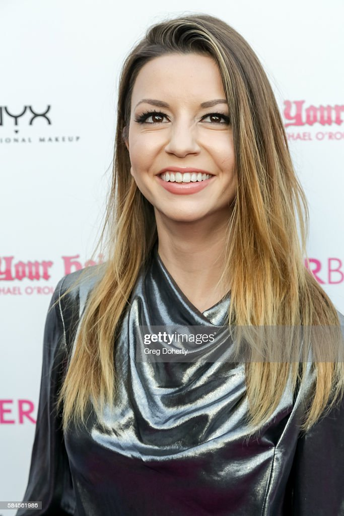 Actress Masiela Lusha arrives at the Tiger Beat's Pre-Party Around FOX's Teen Choice Awards at HYDE Sunset: Kitchen + Cocktails on July 28, 2016 in West Hollywood, California.