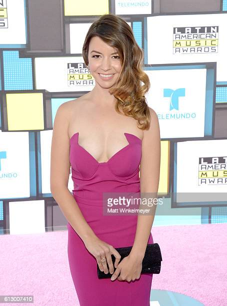 Actress Masiela Lusha attends the 2016 Latin American Music Awards at Dolby Theatre on October 6 2016 in Hollywood California