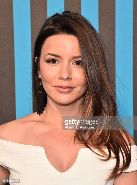 Actress Masiela Lusha attends the MAC Pro to Pro Los Angeles Event at Siren Studios on June 1 2017 in Hollywood California