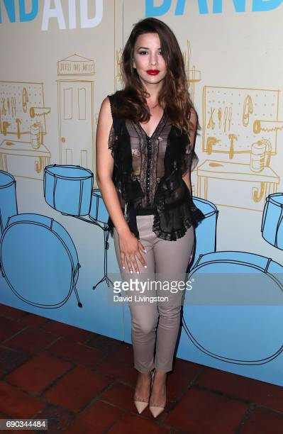 Actress Masiela Lusha attends the premiere of IFC Films' Band Aid at The Theatre at Ace Hotel on May 30 2017 in Los Angeles California
