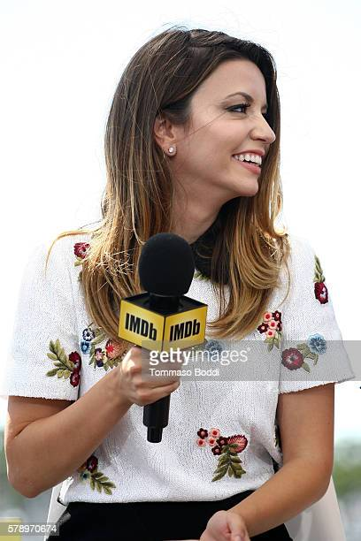 Actress Masiela Lusha of Sharknado attends the IMDb Yacht at San Diego ComicCon 2016 Day Two at The IMDb Yacht on July 22 2016 in San Diego California