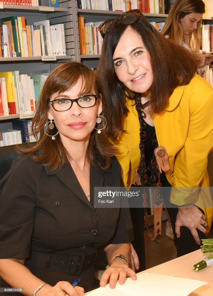 Actress Mathilda May And Fashion Designer Nathalie Garcon Attend News Photo Getty Images
