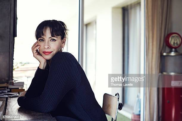 Actress Mathilda May is photographed for Gala on April 17 2015 in Paris France