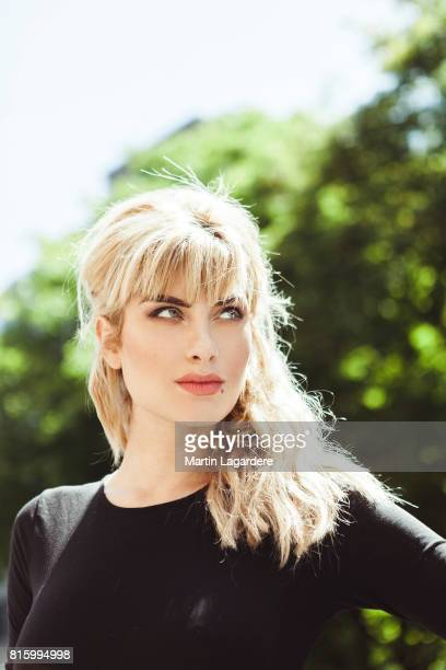 Actress Mathilde Bisson is photographed for Self Assignment on June 10 2017 in Paris France