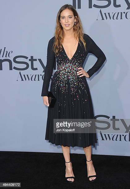 Actress Matilda Lutz arrives at the InStyle Awards at Getty Center on October 26 2015 in Los Angeles California