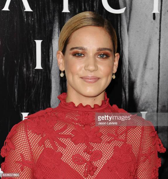 Actress Matilda Lutz attends a screening of Rings at Regal LA Live Stadium 14 on February 2 2017 in Los Angeles California
