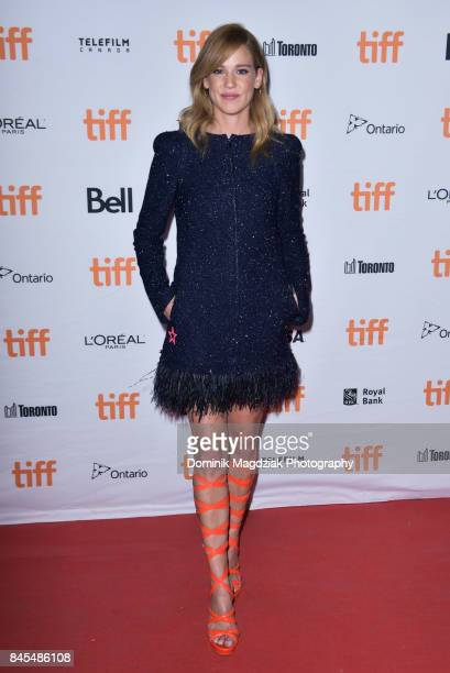 Actress Matilda Lutz attends the Revenge premiere during the 2017 Toronto International Film Festival Midnight Madness at the Ryerson Theatre on...