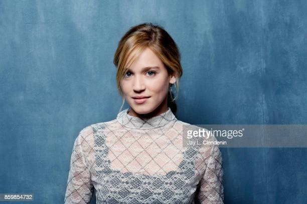 Actress Matilda Lutz from the film Revenge poses for a portrait at the 2017 Toronto International Film Festival for Los Angeles Times on September 10...