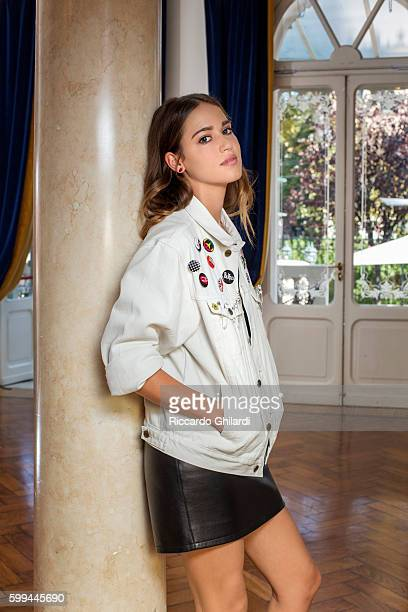 Actress Matilda Lutz is photographed for Self Assignment on September 1 2016 in Venice Italy