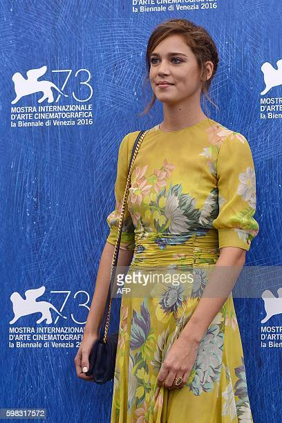 Actress Matilda Lutz poses during a photocall of the movie L'Estate Addosso presented out of competition at the 73rd Venice Film Festival on August...