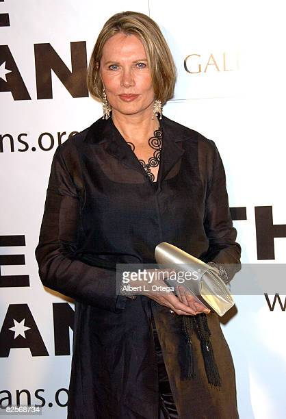 Actress Maud Adams arrives at The Thalians 52nd Anniversary Gala Honoring Sir Roger Moore to benefit The Thalians Mental Health Center at Cedars...
