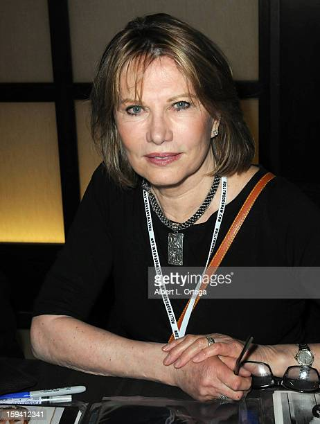 Actress Maud Adams attends day 1 of The Hollywood Show held at Westin LAX on January 12 2013 in Hollywood California