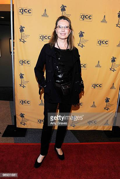 Actress Maud Adams attends the Los Angeles Jewish Film Festival Opening Night Gala on May 8 2010 in Los Angeles California