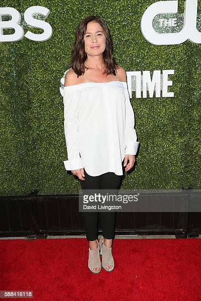 Actress Maura Tierney arrives at the CBS CW Showtime Summer TCA Party at the Pacific Design Center on August 10 2016 in West Hollywood California