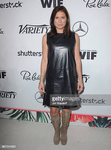 Actress Maura Tierney arrives at Variety And Women In Film's PreEmmy Celebration at Gracias Madre on September 16 2016 in West Hollywood California