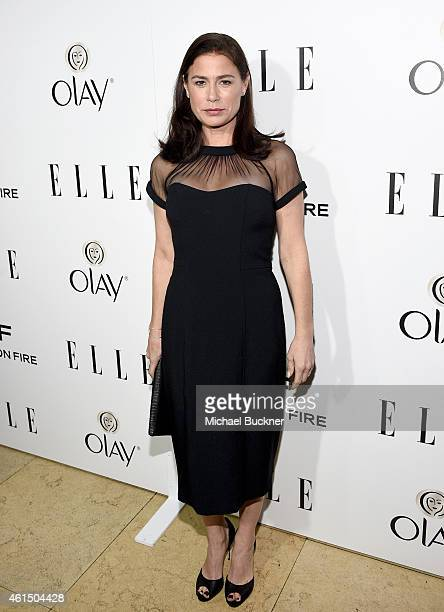 Actress Maura Tierney attends ELLE's Annual Women in Television Celebration on January 13 2015 at Sunset Tower in West Hollywood California Presented...