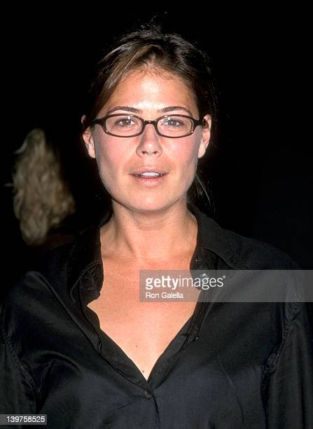 Actress Maura Tierney attends NBC Fall TCA Press Tour on July 20 2001 at the Ritz Carlton Hotel in Pasadena California