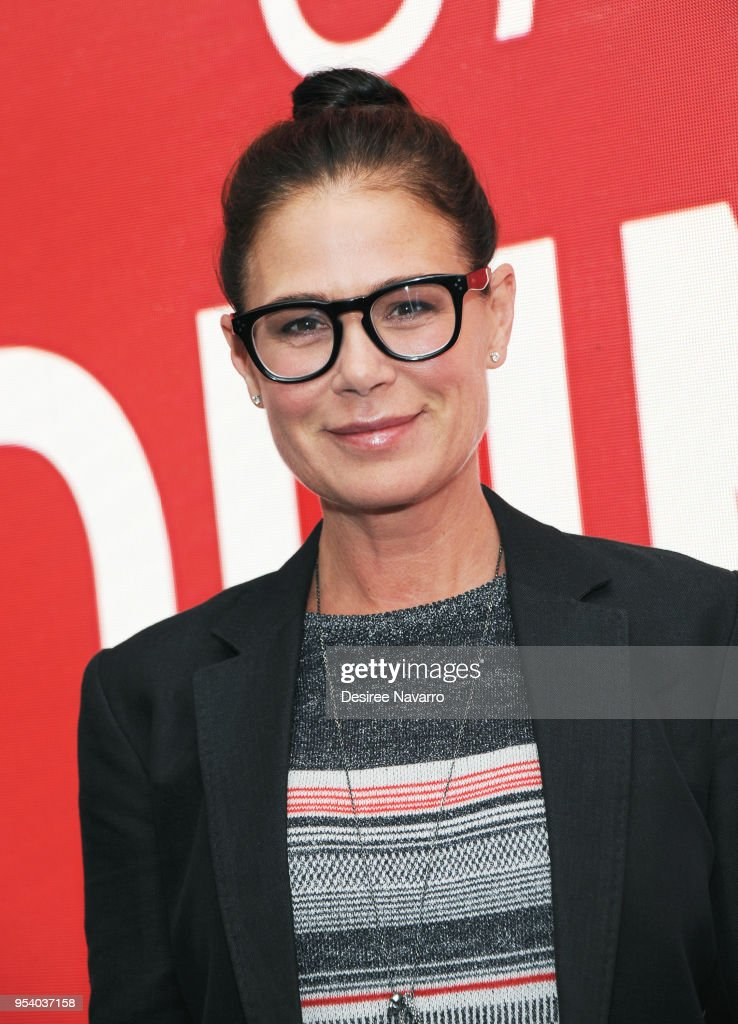 Actress Maura Tierney attends SAG-AFTRA Foundation Conversations: 'Anything' at The Robin Williams Center on May 2, 2018 in New York City.