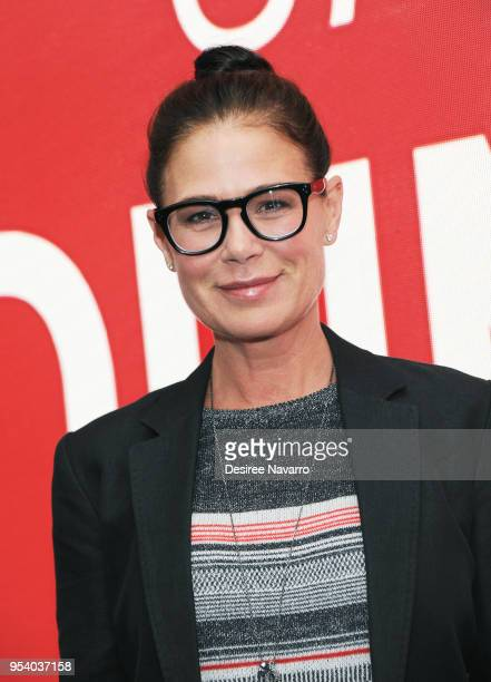 Actress Maura Tierney attends SAGAFTRA Foundation Conversations 'Anything' at The Robin Williams Center on May 2 2018 in New York City