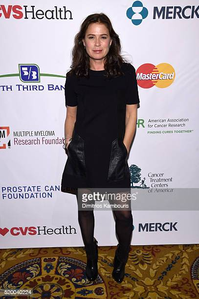 Actress Maura Tierney attends Stand Up To Cancer's New York Standing Room Only presented by Entertainment Industry Foundation with donors American...