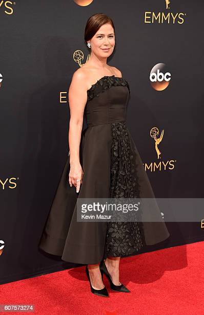 Actress Maura Tierney attends the 68th Annual Primetime Emmy Awards at Microsoft Theater on September 18 2016 in Los Angeles California