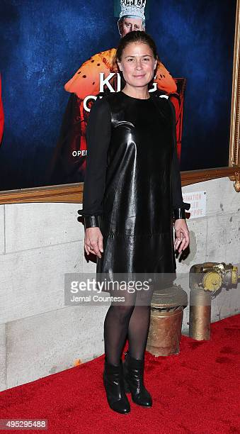 Actress Maura Tierney attends the Broadway Opening Night of King Charles III at the Music Box Theatre on November 1 2015 in New York City