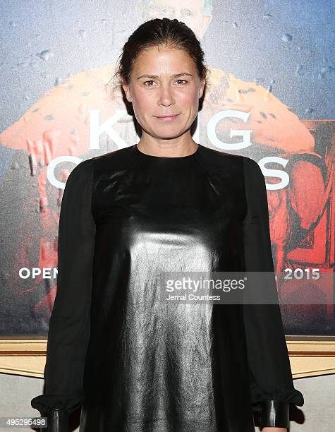 Actress Maura Tierney attends the Broadway Opening Night of 'King Charles III' at the Music Box Theatre on November 1 2015 in New York City