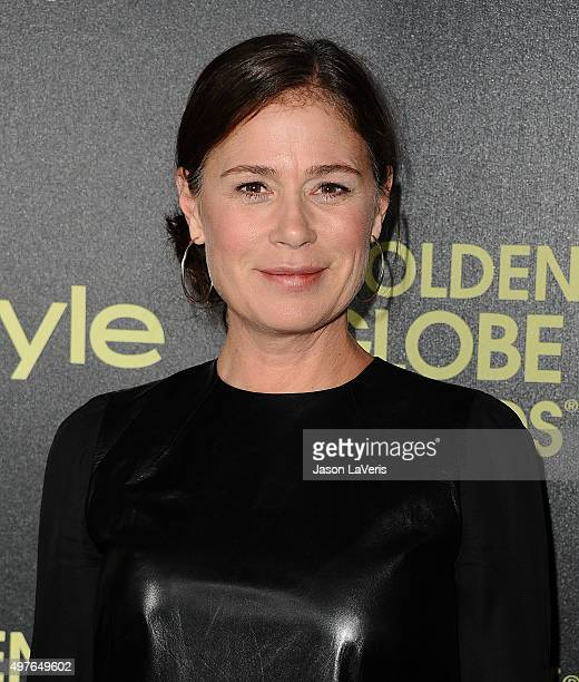 Actress Maura Tierney attends the Hollywood Foreign Press Association and InStyle's celebration of the 2016 Golden Globe award season at Ysabel on...