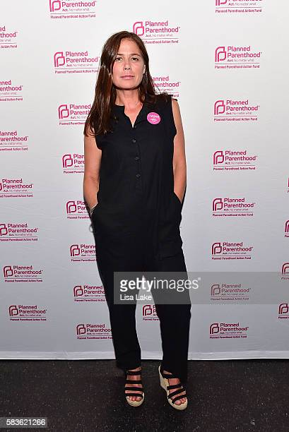 Actress Maura Tierney attends The Planned Parenthood 'Sex Politics And Cocktails' Party During Democratic National Convention at Union Transfer on...