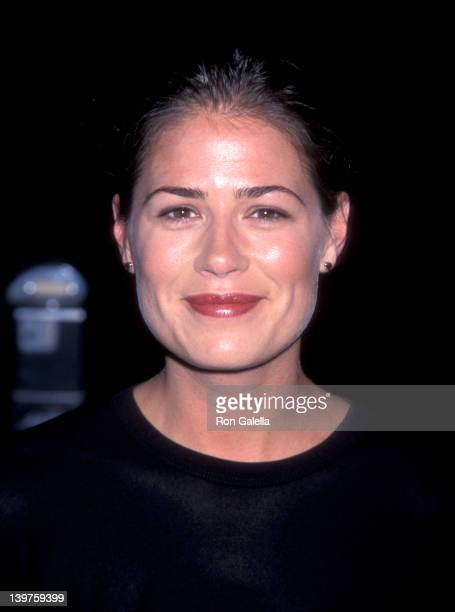 Actress Maura Tierney attends the premiere of 'Instinct' on June 1 1999 at the Director's Guild Theater in Hollywood California