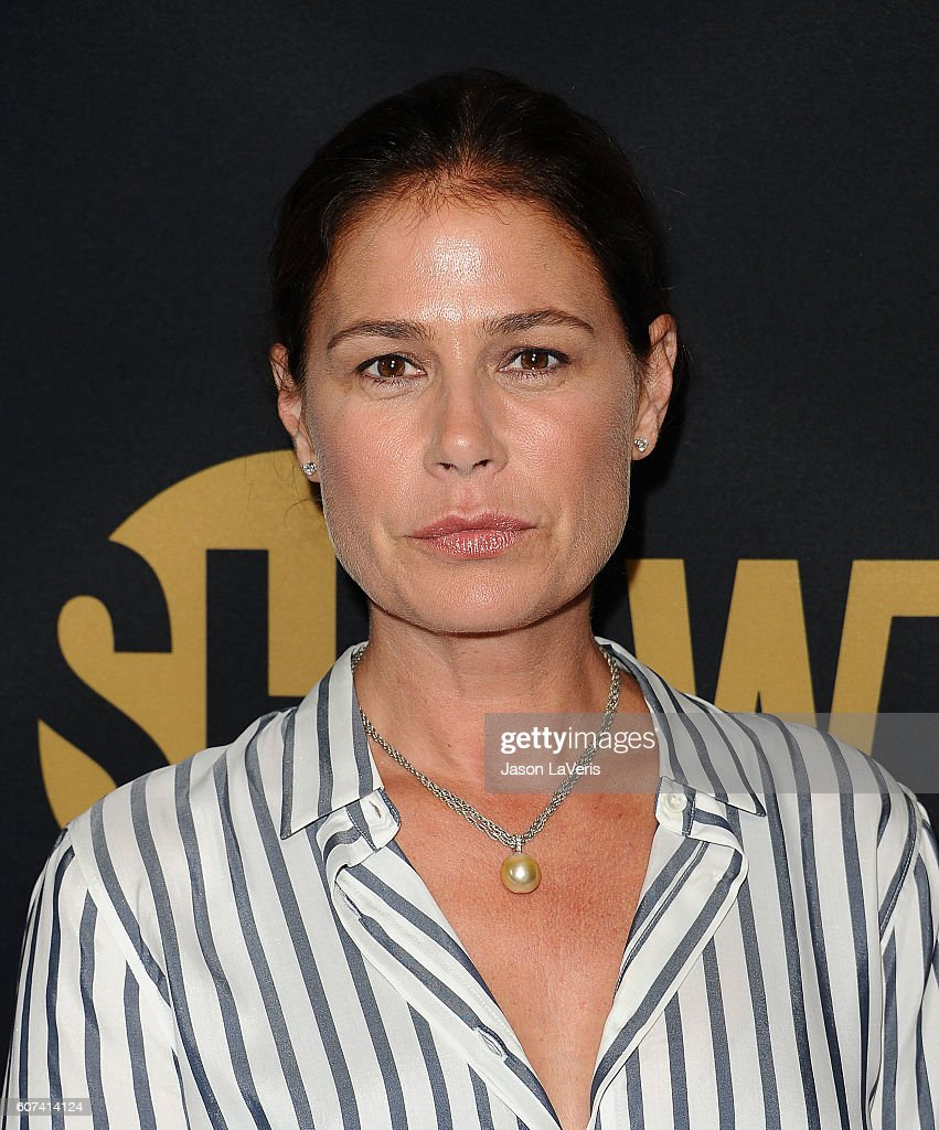Actress Maura Tierney attends the Showtime Emmy eve party at Sunset Tower on September 17, 2016 in West Hollywood, California.