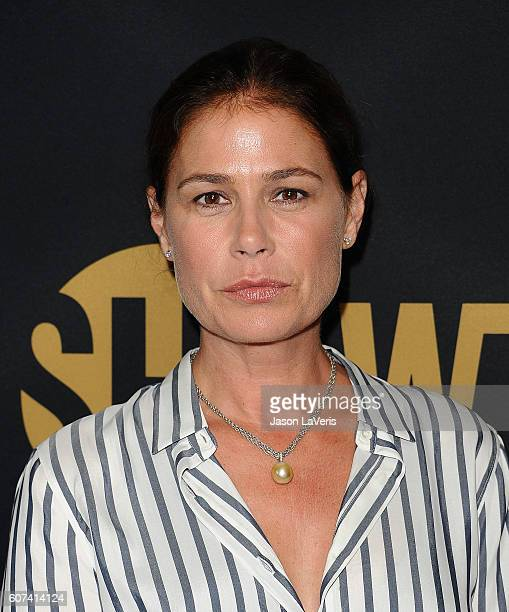 Actress Maura Tierney attends the Showtime Emmy eve party at Sunset Tower on September 17 2016 in West Hollywood California