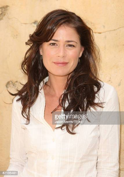 Actress Maura Tierney during In Front to meet the stars of NBC's new shows at Universal Studios Hollywood on May 12 2009 in Universal City California