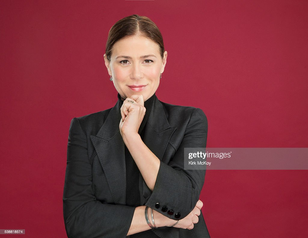 Actress Maura Tierney is photographed for Los Angeles Times on May 31, 2016 in Los Angeles, California. PUBLISHED IMAGE.