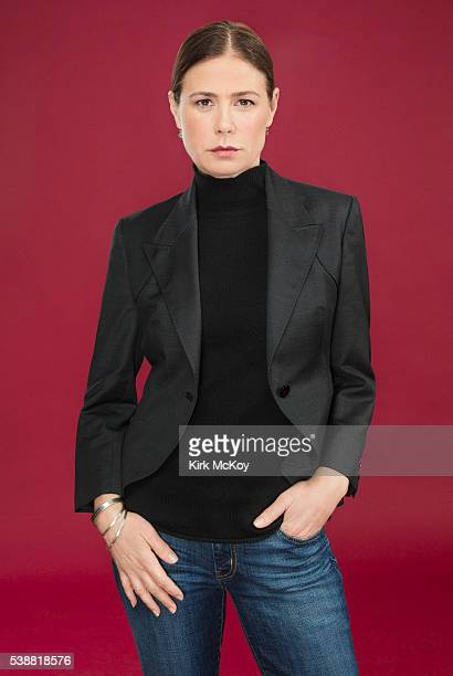 Actress Maura Tierney is photographed for Los Angeles Times on May 31 2016 in Los Angeles California PUBLISHED IMAGE CREDIT MUST READ Kirk McKoy/Los...