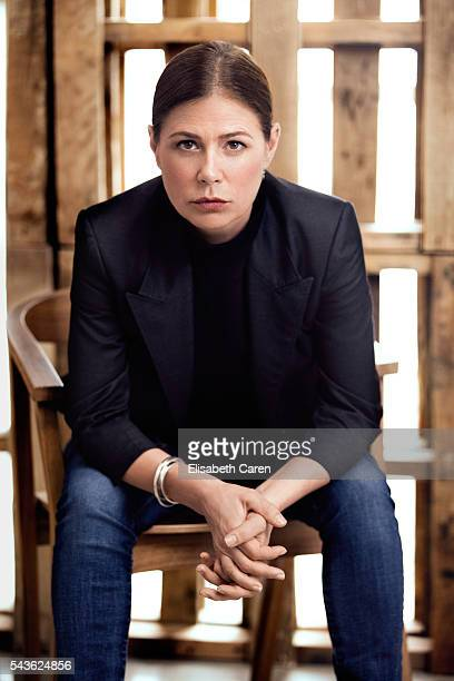 Actress Maura Tierney is photographed for The Wrap on May 31 2016 in Los Angeles California PUBLISHED IMAGE