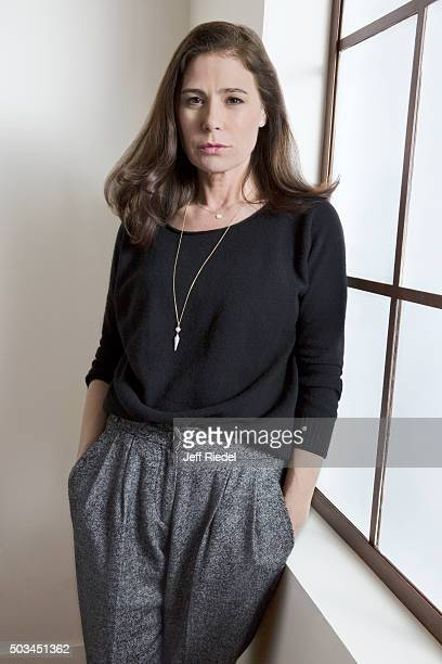 Actress Maura Tierney is photographed for TV Guide Magazine on January 12 2015 in Pasadena California