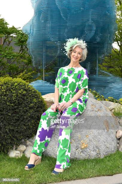 Actress Maureen Lipman attends the Chelsea Flower Show 2018 on May 21 2018 in London England