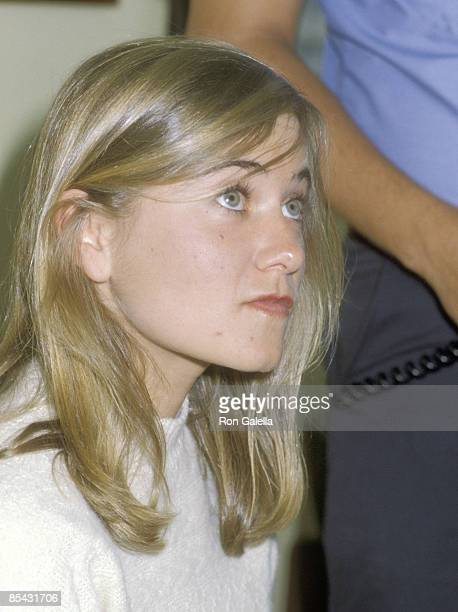 Actress Maureen McCormick attends the 1979 International Summer Special Olympics Games on August 9 1979 at SUNY Brockport Campus in Bockport New York