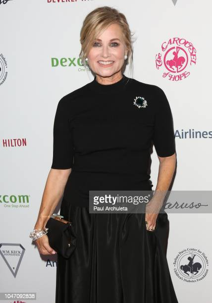 Actress Maureen McCormick attends the 2018 Carousel Of Hope Ball at The Beverly Hilton Hotel on October 6 2018 in Beverly Hills California