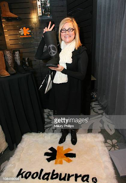 Actress Maureen McCormick attends the Access Hollywood Stuff You Must Lounge produced by On 3 Productions celebrating the Golden Globes held at...