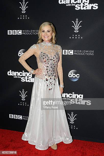 Actress Maureen McCormick attends the Dancing With The Stars live finale at The Grove on November 22 2016 in Los Angeles California