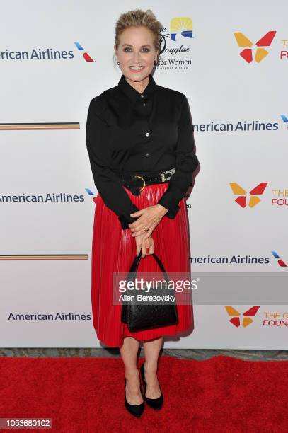 Actress Maureen McCormick attends the Los Angeles Mission Legacy of Vision gala at The Beverly Hilton Hotel on October 25 2018 in Beverly Hills...