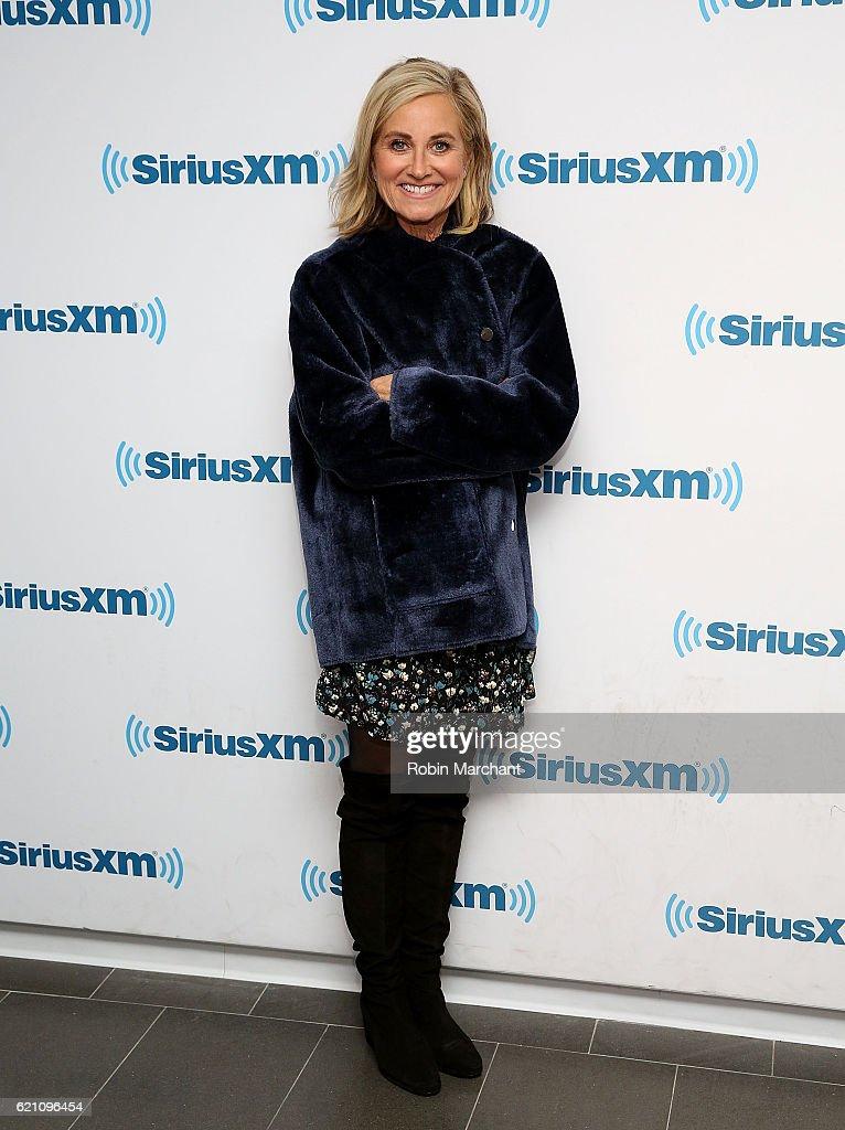 Actress Maureen McCormick visits at SiriusXM Studio on November 4, 2016 in New York City.