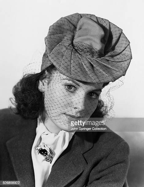 Actress Maureen O'Hara