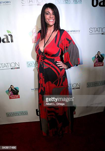 Actress Max Wasa arrives for the Launch Party For So Very Vida Blog held at Station Hollywood at W Hollywood Hotel on June 29 2016 in Hollywood...